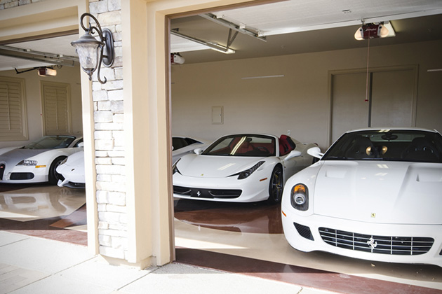 Floyd Mayweathers White Car Collection 5