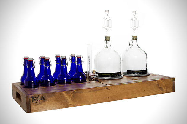 HopBox Handcrafted Homebrewing Kit 2