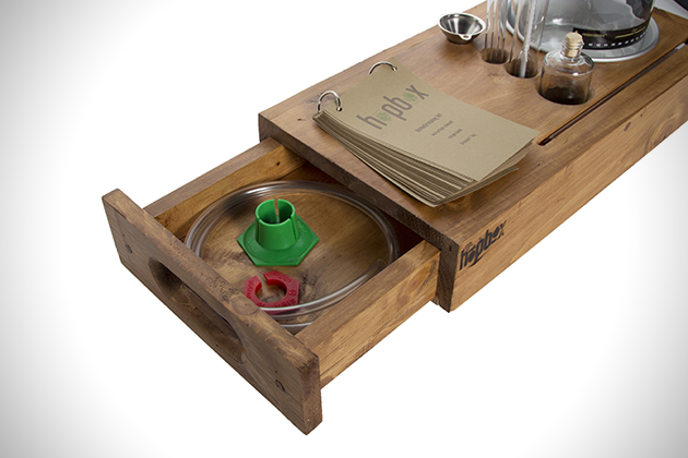 HopBox Handcrafted Homebrewing Kit 4