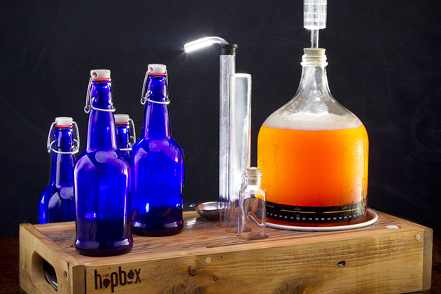 HopBox Handcrafted Homebrewing Kit 5