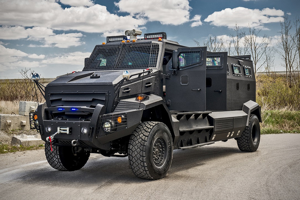 inkas huron apc armored vehicle hiconsumption. Black Bedroom Furniture Sets. Home Design Ideas