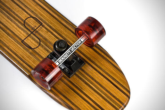 Side Project Skateboards Made From Recovered Hardwoods 2