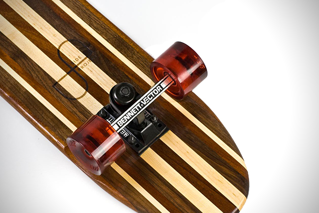 Side Project Skateboards Made From Recovered Hardwoods 4