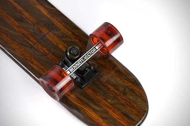 Side Project Skateboards Made From Recovered Hardwoods 6