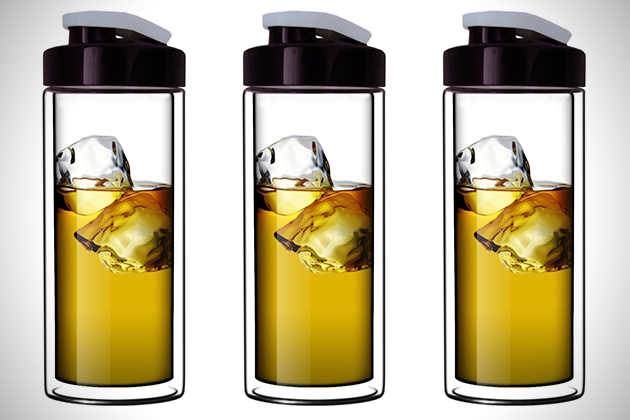 Top Iced Coffee Travel Mug - Coffee Drinker AO88