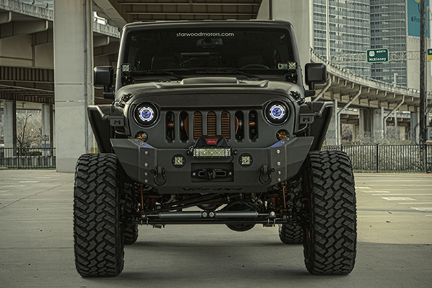 2014 Jeep Wrangler Unlimited NightHawk | HiConsumption