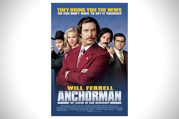 Anchorman- The Legend of Ron Burgundy
