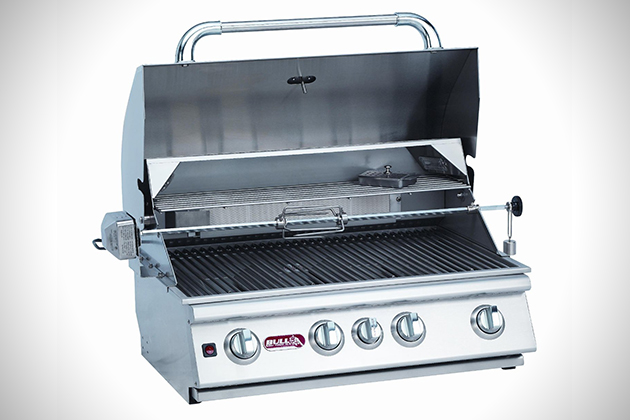 Bison Stainless Steel Grill Head