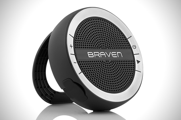 Badkamer Speaker Bluetooth : Braven mira waterproof bluetooth speaker hiconsumption