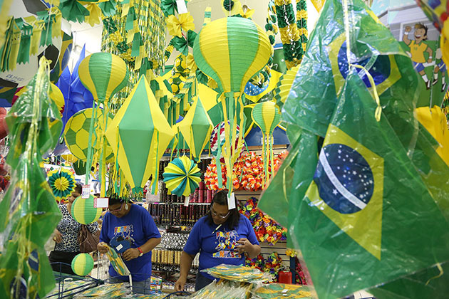 Brazil Takes World Cup Serious
