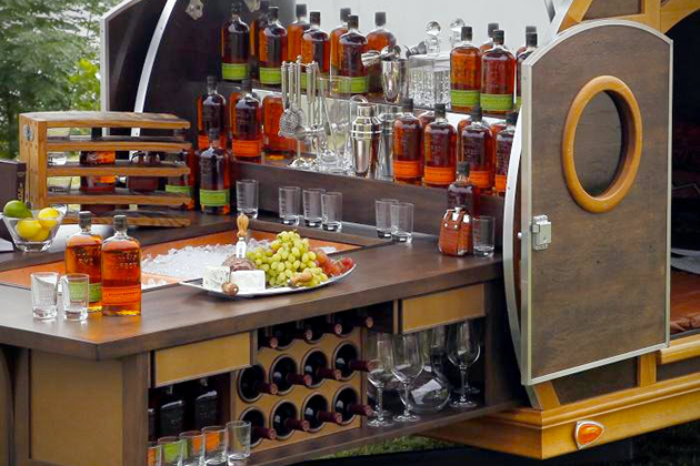 Bulleit Frontier Whiskey Woody-Tailgate Trailer 3
