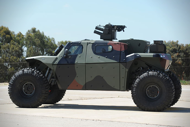 Combat Guard 4x4 Armored Vehicle Hiconsumption