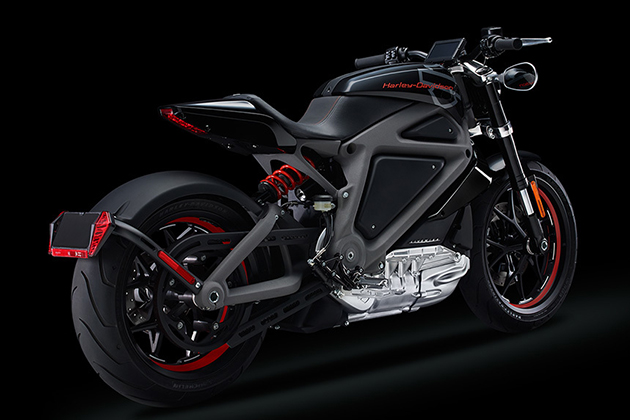 Harley-Davidson Livewire Electric Motorcycle 4