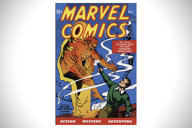Marvel Comics First Issue