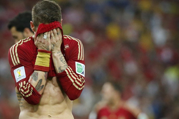 Spain Loses 2014 World Cup