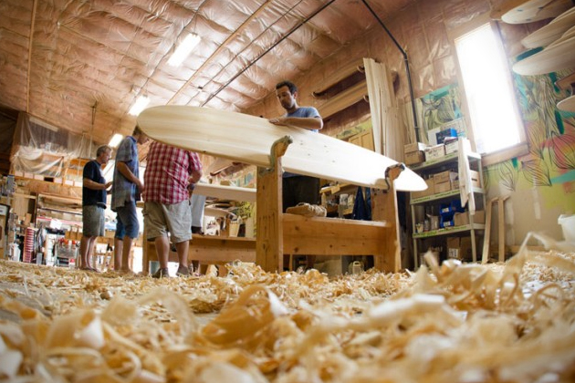 Sustainable Wooden Surfboards by Grain Surfboards 3