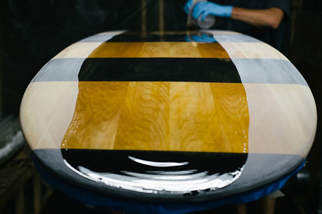 Sustainable Wooden Surfboards by Grain Surfboards 6