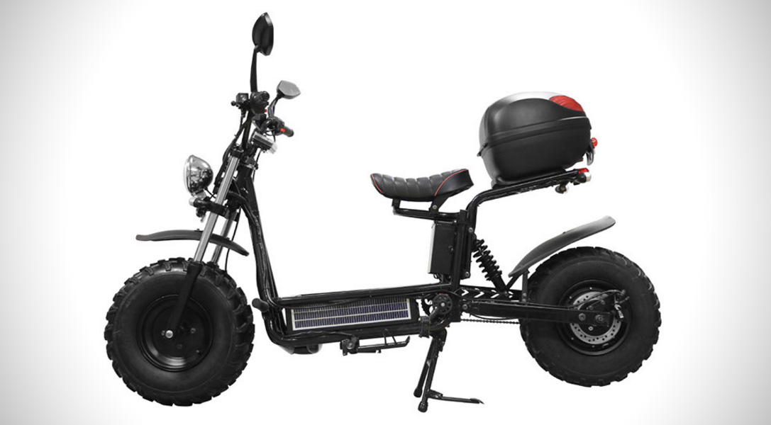the beast off road electric scooter hiconsumption. Black Bedroom Furniture Sets. Home Design Ideas