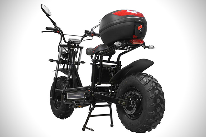 The Beast Off Road Electric Scooter Hiconsumption