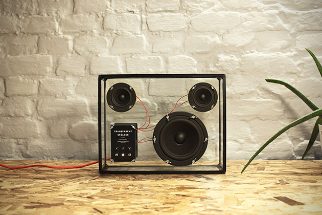 Transparent Speaker by People People 4