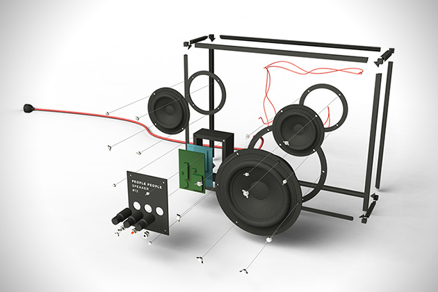 Transparent Speaker by People People 5