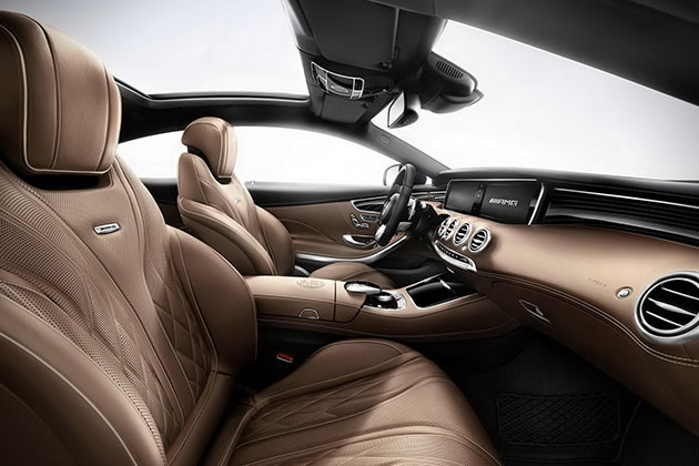 2015 Mercedes-Benz S65 AMG Coupe 7