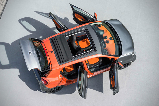 2015 Smart Fortwo and Forfour 7