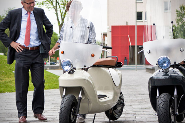 Bee Biobased Electric Scooter 5
