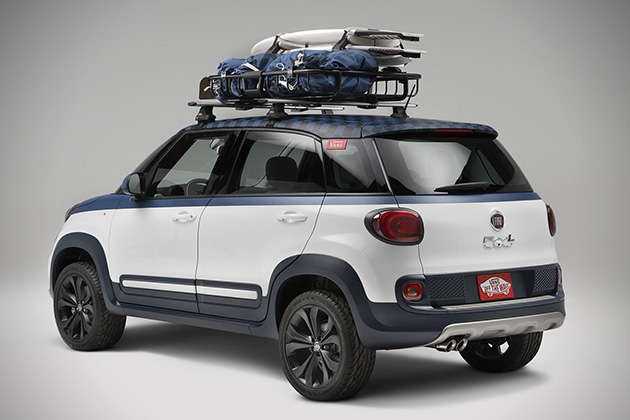 Fiat 500L Vans US Open of Surfing Concept 2