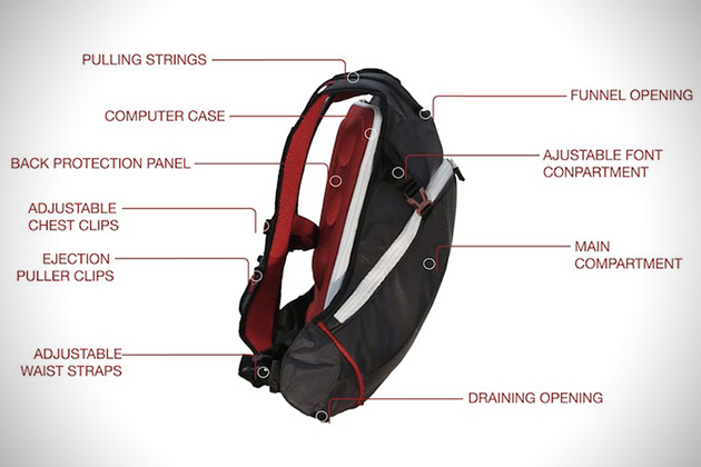 Funnell Eject Backpack And Jacket System Hiconsumption