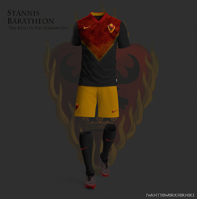 Game of Thrones Nike World Cup Kits 10