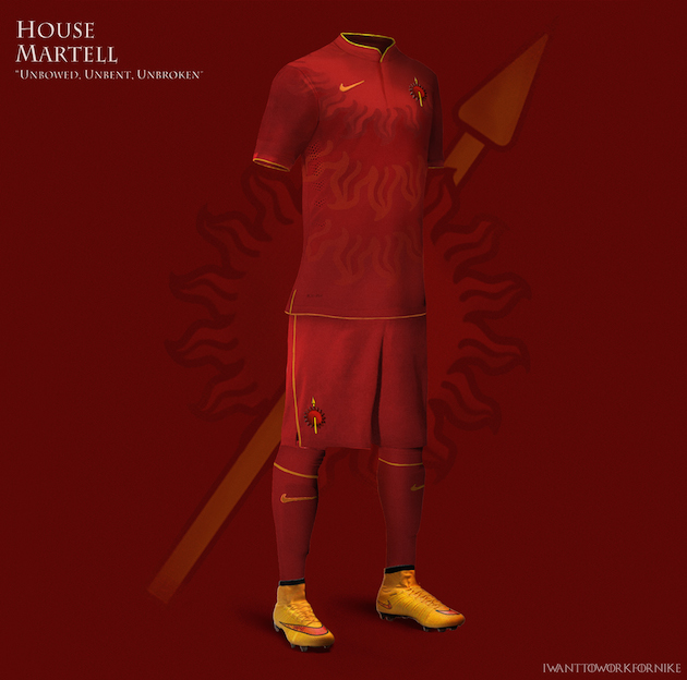Game of Thrones Nike World Cup Kits 11