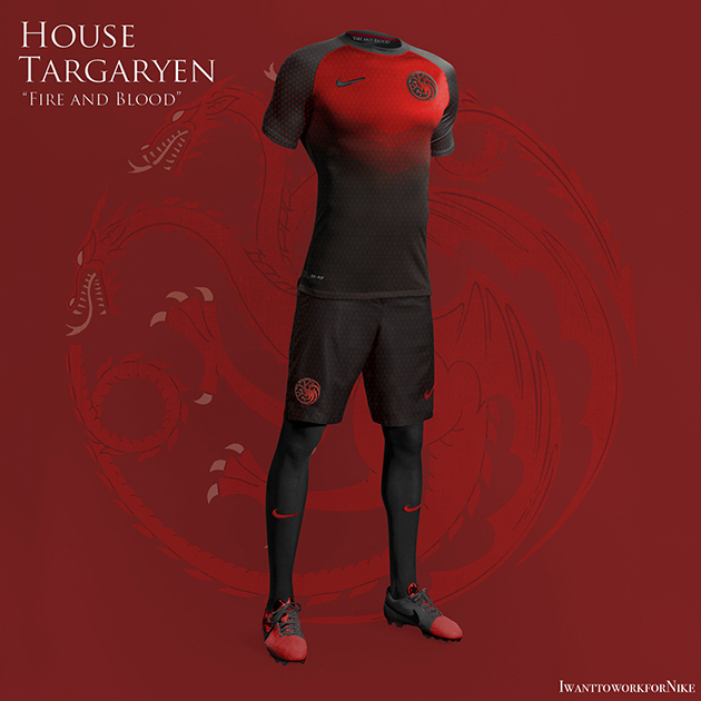 Game of Thrones Nike World Cup Kits 12