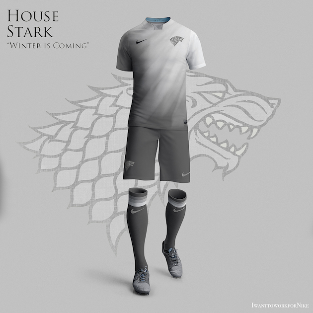 Game of Thrones Nike World Cup Kits 3