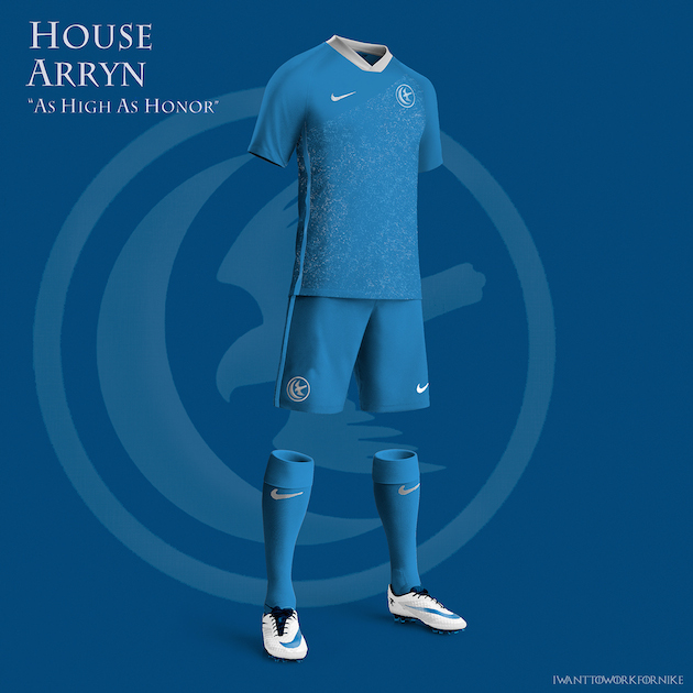 Game of Thrones Nike World Cup Kits 5