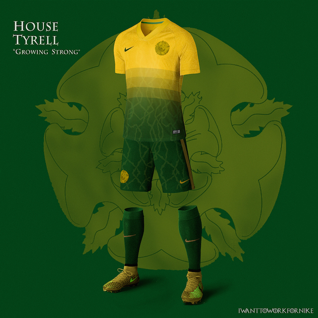 Game of Thrones Nike World Cup Kits 8