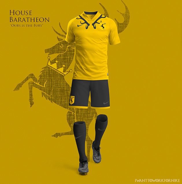 Game of Thrones Nike World Cup Kits 9
