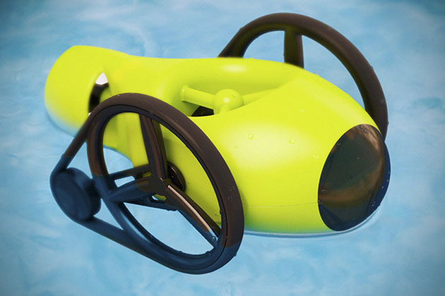 Quest Smartphone-Controlled Robot Submarine 3