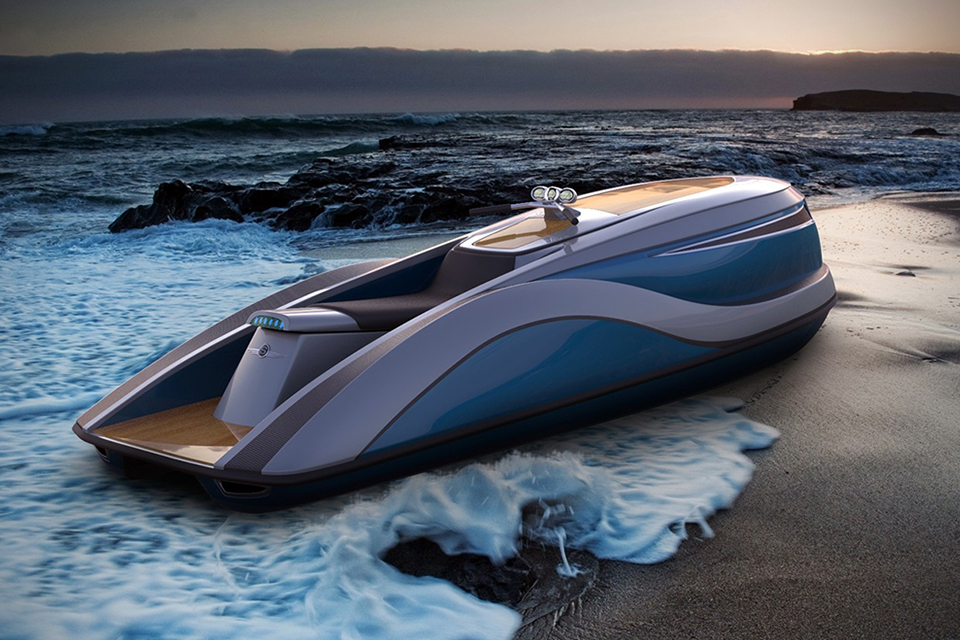 Strand Craft V8 Wet Rod Luxury Jet Ski Hiconsumption