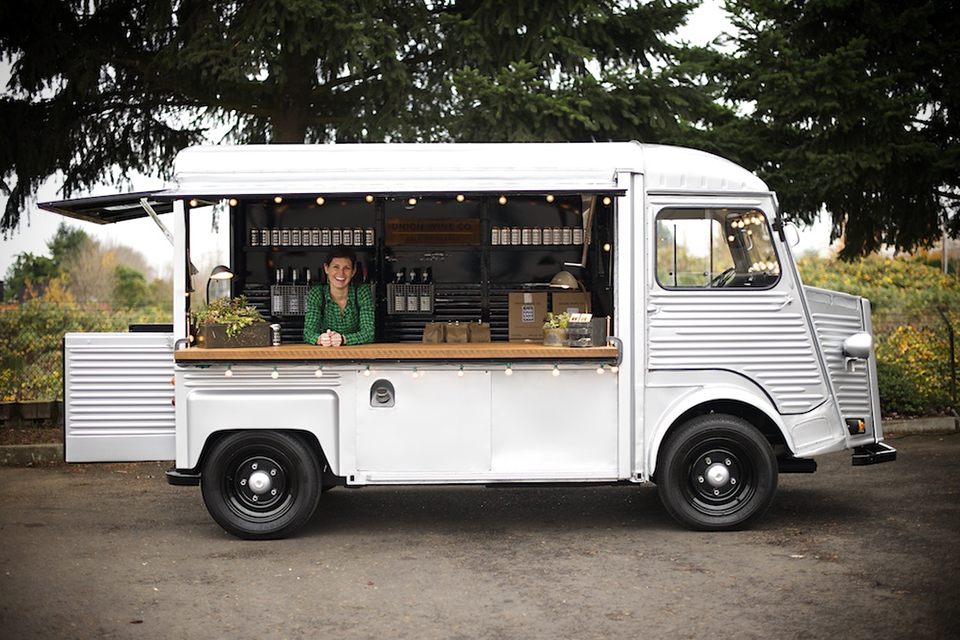 Truck Step Up >> Union Wine Co. Wine Tasting Truck | HiConsumption
