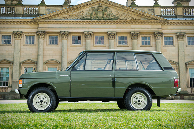 1970 range rover 001 up for auction hiconsumption for Land rover tarbes garage moderne