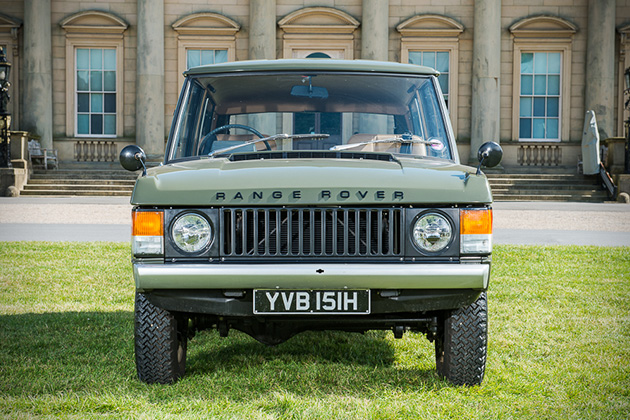 1970 Range Rover 001 Up For Auction 2