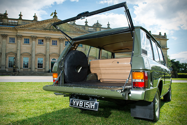 1970 Range Rover 001 Up For Auction 3