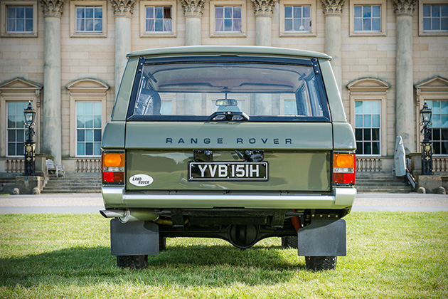 1970 Range Rover 001 Up For Auction 4