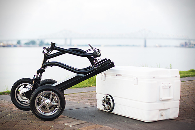Kreweser Electric Trike With Cooler 02