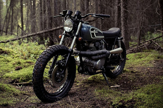 The Couch Surfer Honda CB360 by Federal Moto 2