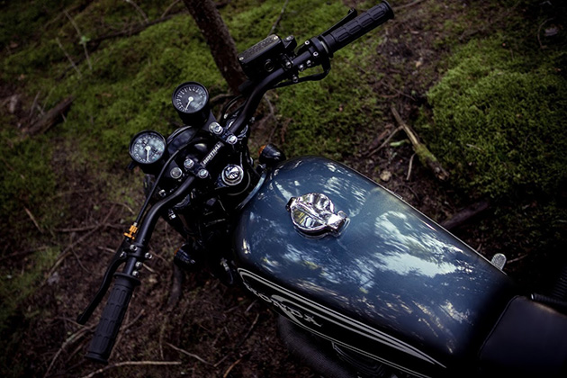 The Couch Surfer Honda CB360 by Federal Moto 3