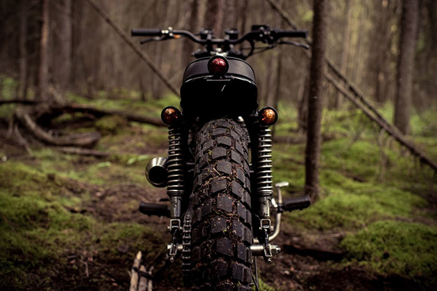 The Couch Surfer Honda CB360 by Federal Moto 4