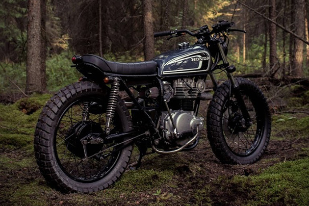 The Couch Surfer Honda CB360 by Federal Moto 5