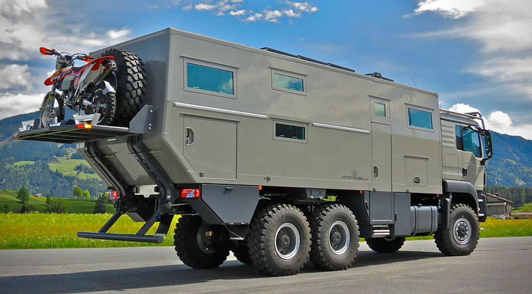 action mobil global xrs 7200 expedition vehicle hiconsumption. Black Bedroom Furniture Sets. Home Design Ideas